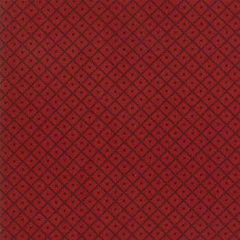 Harriets Handwork Basket Red