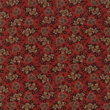 Harriets Handwork Floral Red