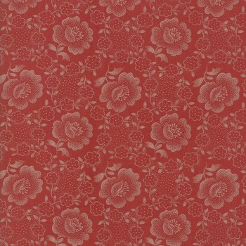 Jo's Shirtings Floral Brick