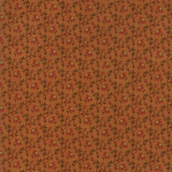 Spice It Up Floral Rust