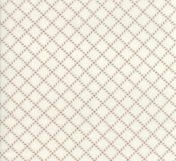 Farmhouse Flannel II Diagonal Plaid Cream Toast
