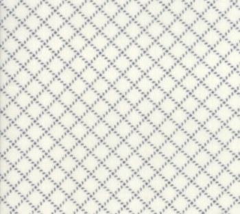 Farmhouse Flannel II Diagonal Plaid Cream Graphite