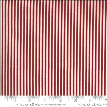 American Gatherings Stripe Red Cream