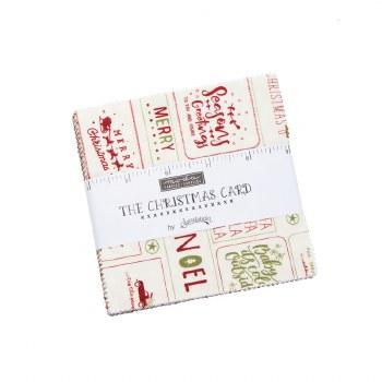 Christmas Card Charm Pack