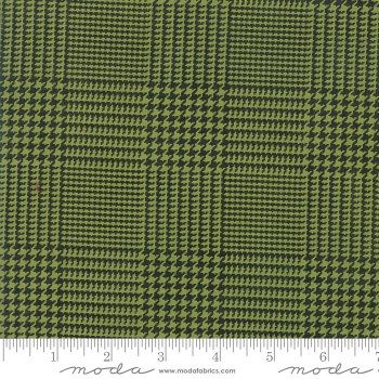 Christmas Card Plaid Green