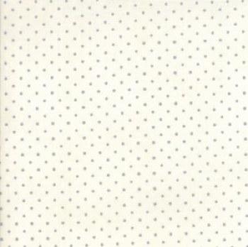 Essentials Dots White Silver