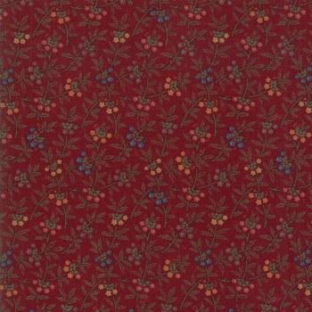 Meadowlark Pond Sm Floral Red