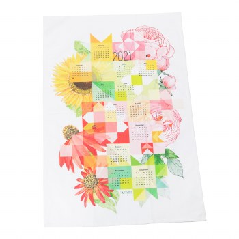 Sew Happy Calendar Towel