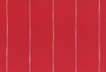 """Toweling 16"""" Picnic Point Red Stitched Stripe"""