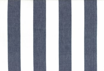 """Toweling 16"""" Picnic Point Navy Thick Stripe"""