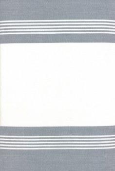 """Toweling 16"""" Rock Pool GreyWht"""