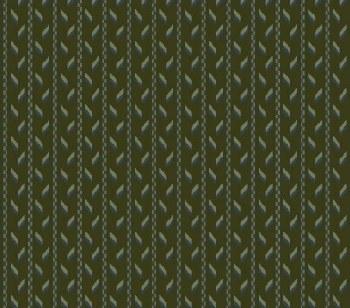 Tall Grass Stripe Green