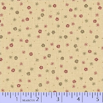 Pieceful Pines Sm Floral Crea