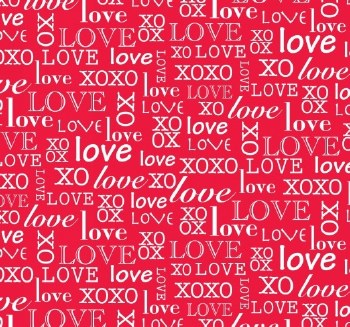 So Sweet Love Words Red