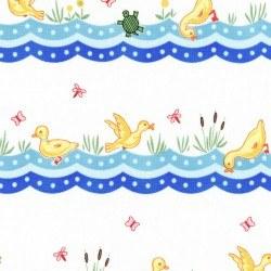 Animal Quackers Duck Stripe Blue