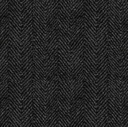 Woolies Flannel Herringbone Black