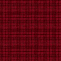 Woolies Flannel Plaid Red