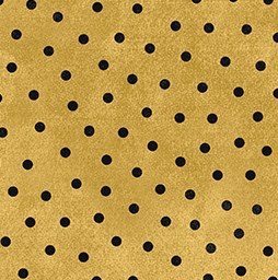 Woolies Flannel Dots Gold