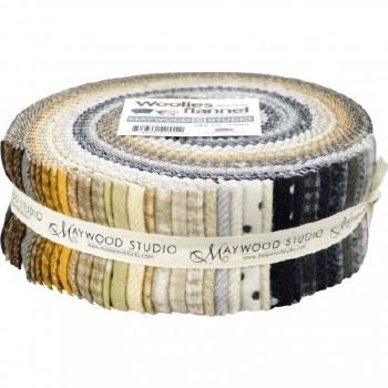 "Woolies Flannel 2 1/2"" Strips"