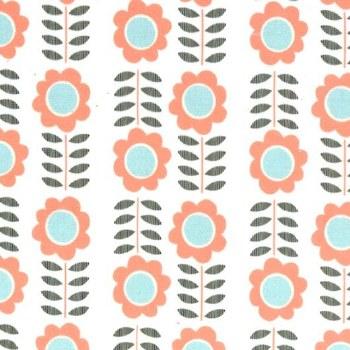 Minky Peachnations Floral