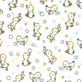 Minky Duck Bath Bubble White