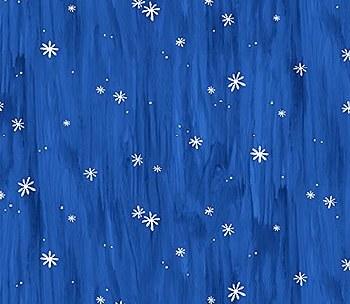 Oh Holy Night Stars Blue