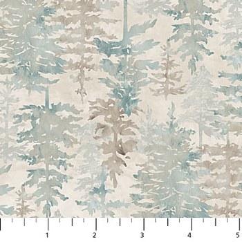 Misty Mountain Flannel Trees G
