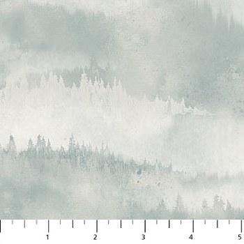 Misty Mountain Flannel Gray