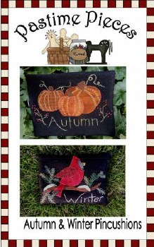 Autumn and Winter Pincushions