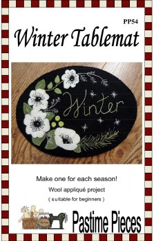 Winter Tablemat by Pastime