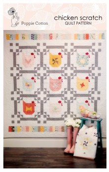 Chicken Scratch Quilt Pattern