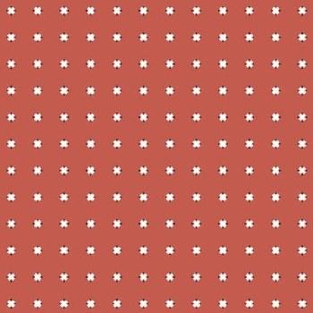 Prairie Sisters Cross Red
