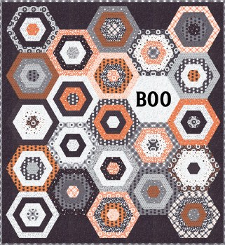 Boo Quilt Kit