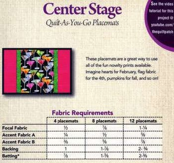Center Stage Placemat