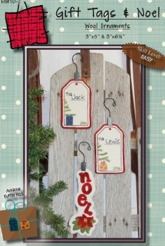 Gift Tags and Noel Ornaments