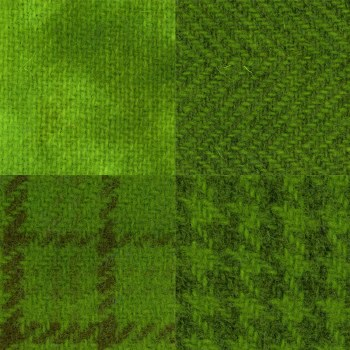 Primtive Gatherings Wool Safety Green