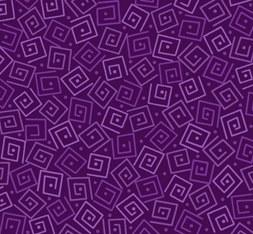 Harmony Flannel Squares Grape