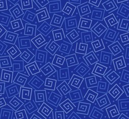 Harmony Flannel Squares Royal
