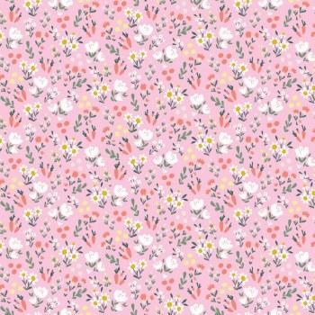 Easter Egg Hunt Floral Pink