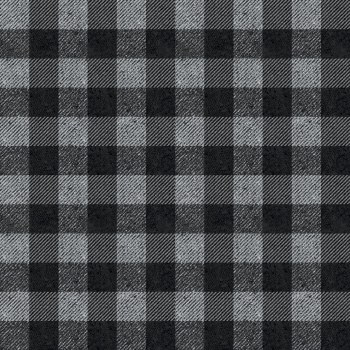 Plaids Buffalo Check Black