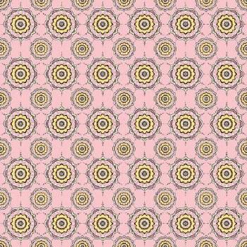 Petal Lane Medallion Pink