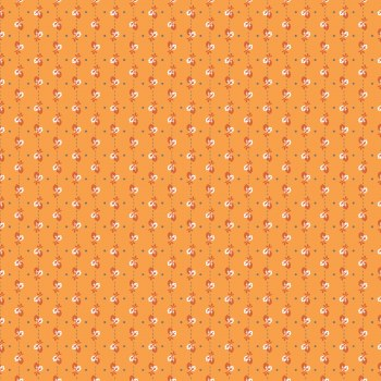 Autumn Love Leaves Orange