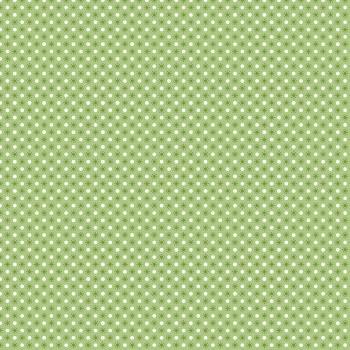 Autumn Love Polka Dots Green