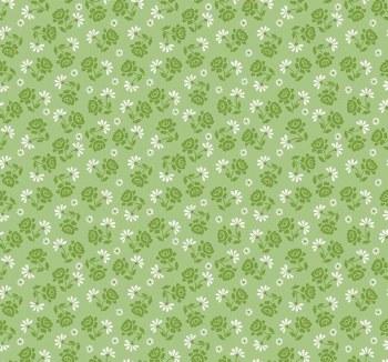 Granny Chic Roses Green