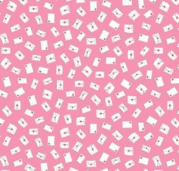 Love Letters Envelopes Pink