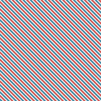 Love Letters Stripe Blue