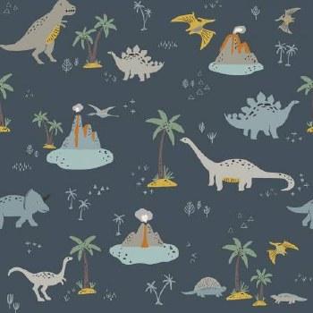 Fossil Rim 2 Lge Dino Navy