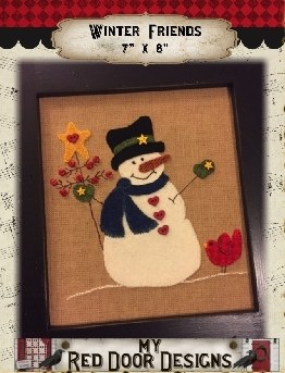 Winter Friends by Red Door Des