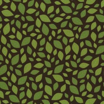 Lily's Garden Leaf Brown Green