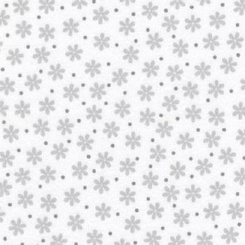Cozy Cotton White Daisies